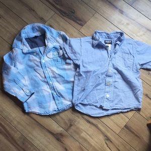 Two Boys' Shirts